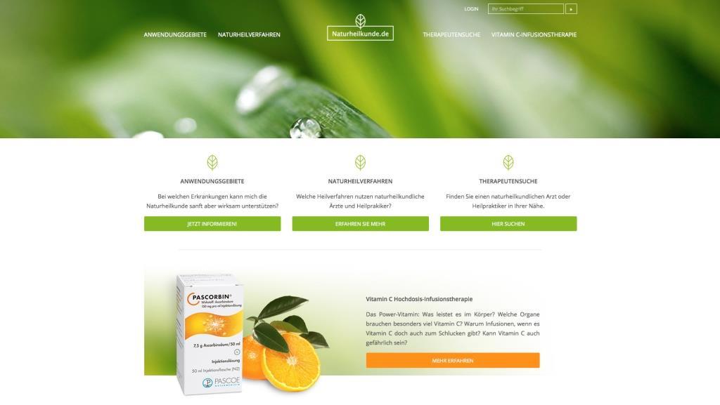 Online-Datenbank zur Naturmedizin