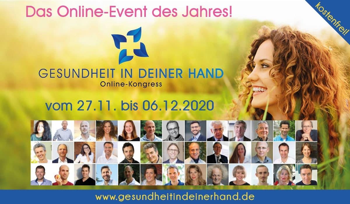 """Tipp: """"Gesundheit in deiner Hand""""-Kongress"""